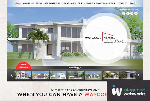 Positive success way cool homes the integrated for Waycool homes