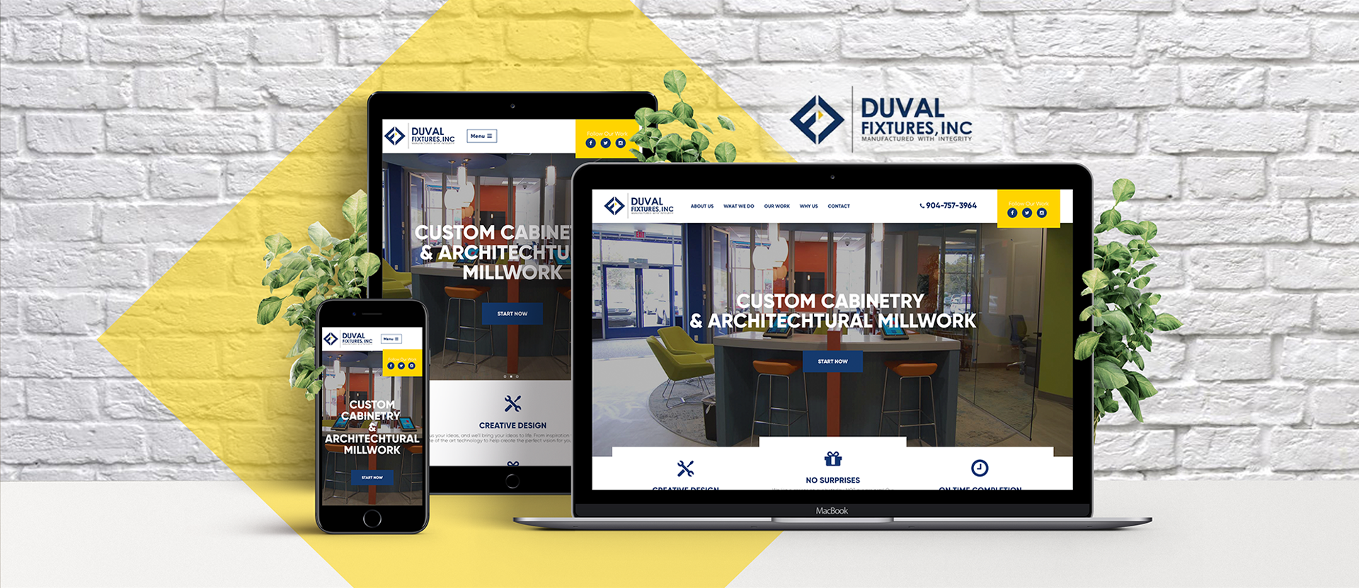 Duval Fixtures Marketing Portfolio